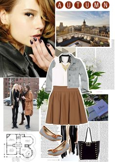 """""""AUTUMN"""" by reka-hegyes ❤ liked on Polyvore"""