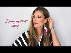 Spring night out makeup Spring, Night Out, Sunglasses Women, Make Up, Long Hair Styles, Beauty, Youtube, Products, Fashion