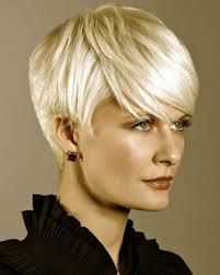 Trendy Short Hairstyles with Cool Haircuts : Trendy Short Haircuts 2014 Hairstyle Thin Hair Styles Are Always Trendy Short Hairstyle For<br> Haircut Styles For Women, Short Hair Styles For Round Faces, Short Haircut Styles, Short Hair Styles Easy, Hair Styles 2014, Short Cropped Hair, Short Thin Hair, Short Blonde, Short Hair Cuts