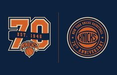 New York Knicks 70th Anniversary Logo(s) on Behance