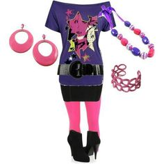 Ideas Birthday Outfit Ideas For Women Halloween Costumes Retro Party Themes, 80s Theme Party Outfits, 80s Themed Costumes, 80s Halloween Costumes, 80s Womens Fashion, 80s Fashion, Easy 80s Costume, Eighties Costume, Costume Ideas