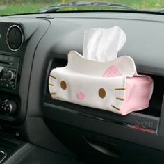 Hello Kitty Leather Tissue Cover