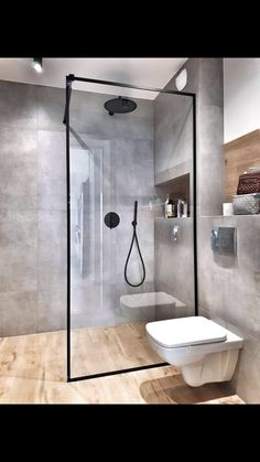 Bathroom Plans, Small Bathroom, Modern Bathroom Design, Bathroom Interior Design, Minimalist Bathroom, Style At Home, Home Crafts, House Design, Decoration