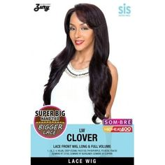 Zury Sis Synthetic Lace Front Wig Clover