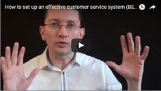 How to set up an effective customer service system (BEC Vantage)