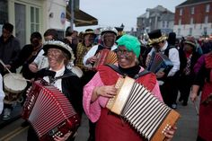 Martin Parr  England. Padstow. Mummers or Darkie Day.  2011.