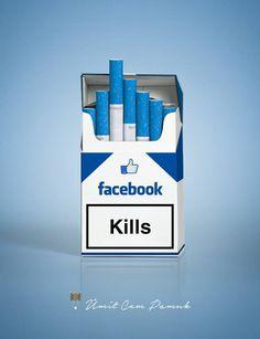 Facebook Addiction By Umit Cem Pamuk by umitpamuk.deviantart.com on @DeviantArt