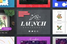 Launch Booster Kit by PixelBuddha on @creativemarket