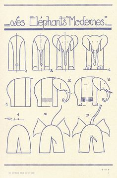 How-to draw an elephant
