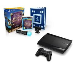 Combine your love for video games and Harry Potter with the Sony Super Slim PlayStation 3, 500GB, with Wonderbook: Book of Spells Starter Pack.