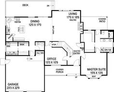 Bungalow Style House Plans - 2300 Square Foot Home, 2 Story, 4 ...