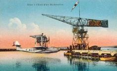 Latecoere Flying boat at Marseilles
