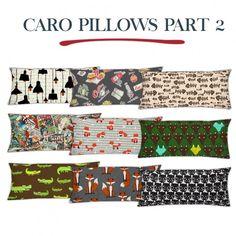 Caro Pillows Part 2 at Leo Sims