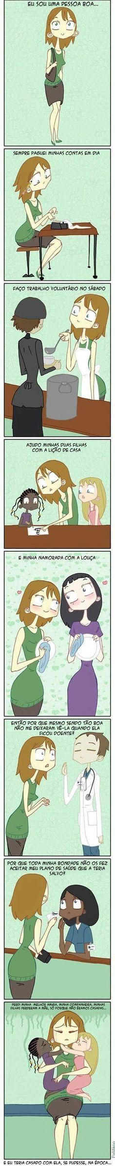 Porque o casamento homo afetivo é importante.