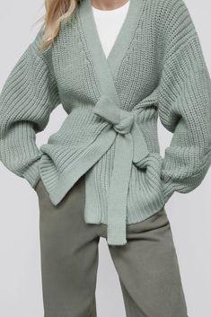 Long Cardigan, Knit Cardigan, Sweaters For Women, Men Sweater, Fashion Editor, Zara Women, Pulls, New Outfits, Casual Wear