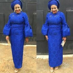 """224 Likes, 1 Comments - Ankara Collections (@ankaracollections) on Instagram: """"Blue is beautiful #asoebi #ankaracollections"""""""