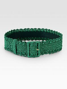 Dolce & Gabbana - Raffia Belt - Saks.com