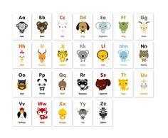 <p>Ravissant abécédaire Loopz, composé de 26 feuillets avec des illustrations d'animaux et noms en anglaisdans un esprit graphique et coloré, imprimé à Hong Kong, design Loopz. Pour décorer une chambre d'enfant ou faire un cadeau de naissance original! A encadrer, à punaiser, à aimanter ou à offrir !</p>
