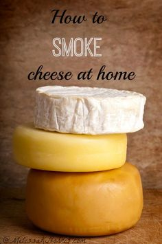 Learn how to smoke cheese at home. Easy, frugal, and quick. Step by step instructions to make gourmet smoked cheese at home. Feta, Fromage Cheese, Do It Yourself Food, Smoked Cheese, Smoking Recipes, Homemade Cheese, Homemade Breads, Meat And Cheese, How To Make Cheese
