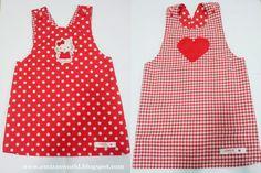 Blog Emiza 'Sevgiyle yapılan el sanatları'   DIY pinafore dress