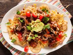 From the YOU kitchen: Beef strips with cheesy nachos
