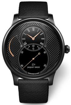 Jaquet Droz Grande Seconde Ceramic Clous De Paris Watches Watch Releases