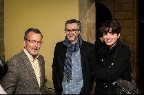 Agustín Hernández, José Luis Losa y Bárbara Lennie en la 28ª edición de Cineuropa