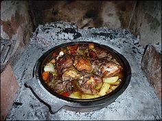 Kulinarisches aus Kroatien » Zubereitung einer Peka