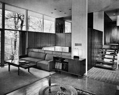 dig everything about this interior. mid century modern