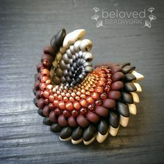 "Anna Richerby-South Africa  ""To Have and Hold"" Many thanks to The Beadsmith for sharing this."