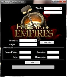 Forge of empires cheats 2014 world