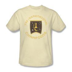 67b26941 Star Trek Tri-Dimensional Champions Emblem Logo Youth Ladies Jr Men T-shirt  top