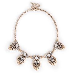 """Sole Society """"crystal and stone statement necklace"""", $34.95"""
