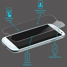Samsung Galaxy S3 LCD Tempered Glass Screen Protector