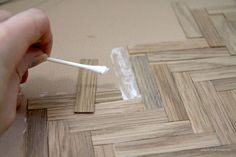 Paper Doll Miniatures: Wide Plank Flooring and Renovations