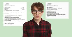What happened when British comedian James Veitch began responding to the spam emails he received.