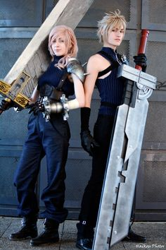 FINAL FANTASY VII ADVENT CHILDREN,#cosplay,cosplay things,cosplay