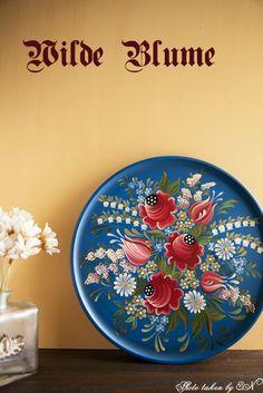 ドイツの伝統工芸 Bauernmalereiの紹介と日常生活