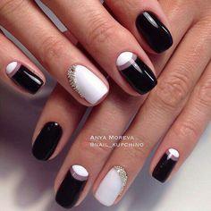 Чёрное белое