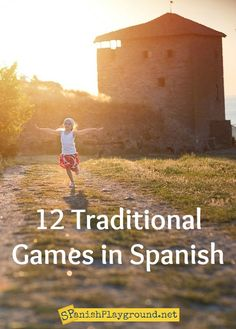 12 Traditional Games in Spanish for kids learning language. Fun, easy and authentic Spanish games for kids. Spanish Games For Kids, Spanish Lessons For Kids, Spanish Basics, Spanish Activities, Spanish Teacher, Spanish Classroom, Teaching Spanish, Playground Games, Spanish Speaking Countries