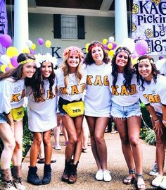 Kappa Alpha Theta bid day #theta #sorority