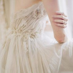 nymphadxra // @nymphadxra Northern Virginia, Princess Aesthetic, Carina, Ethereal, Cream Wedding, Delicate, Fae Aesthetic, Feminine, One Shoulder Wedding Dress
