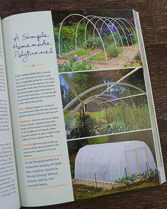 from a growing tradition, build walk-in a hoop house over 2 raised beds