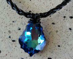 H20 Just Add Water Necklace Mermaid Bella Real Crystal Xmas Special | eBay