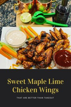 A blast of lime flavor followed by a smooth, addicting, sweet taste of maple syrup. Don't miss out! Try these at home.