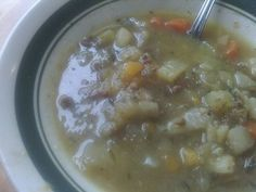 Interstitial Cystitis (IC) Recipes and Tips: Beef N Veggie Soup aka, RX in a pot!