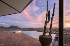 In Scottsdale Mountain. Everything about this property was thought out from being built with orientation to take advantage of one of the highest locations in the community to making sure it captures the most amazing city and desert views.