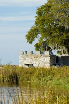 Visit Fort Frederica National Monument on St. Simons Island, Georgia. www.GoldenIsles.com