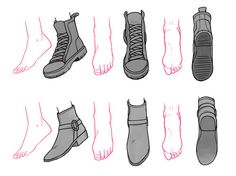 drawing shoes - Szukaj w Google