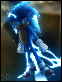 Sonic the Hedgehog by on DeviantArtYou can find Sonic the hedgehog and more on our website.Sonic the Hedgehog by on DeviantArt Sonic The Hedgehog, Hedgehog Movie, Hedgehog Art, Shadow The Hedgehog, Sonic And Amy, Sonic And Shadow, Sonic The Movie, Hiro Big Hero 6, Classic Sonic